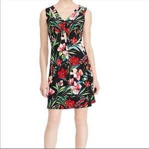 American Living Floral Print Fit & Flare Dress NWT